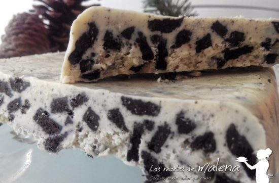 turron chocolate blanco oreo