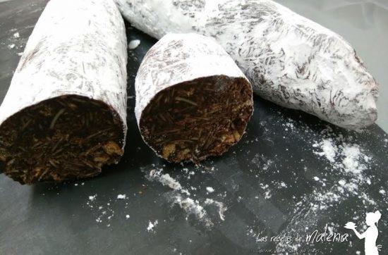 Salchichon chocolate
