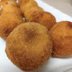 croquetas de beicon y patata sin harina